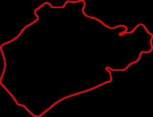 Karte Nürburgring